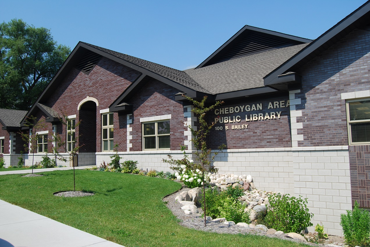 Cheboygan public library the design forum inc for Architecture firms in michigan